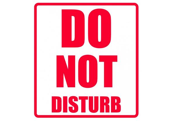#38. Don't Get Interrupted