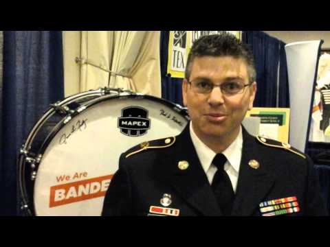 Christopher Foster –Armed Forces Percussion Player