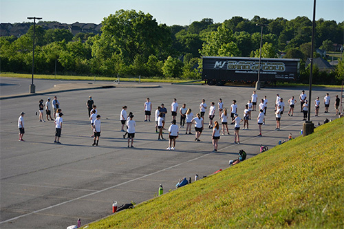 See How One Marching Band Is Rehearsing Within Pandemic Guidelines